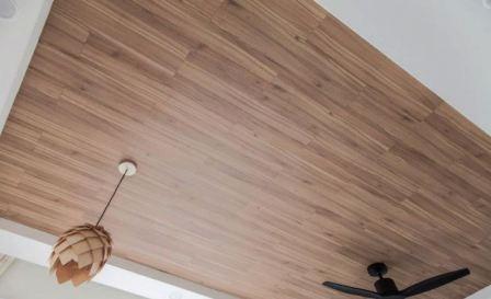 Ламинат на потолок: как крепить