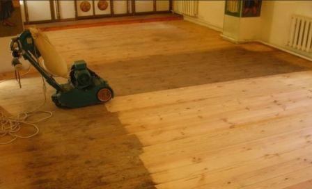 Ламинат на неровный деревянный пол