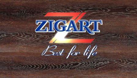 Ламинат компании Zigart, качество и практичность