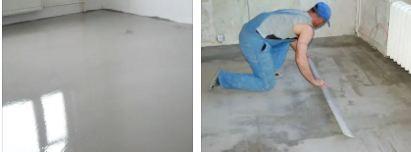 Как сделать наливной пол под ламинат
