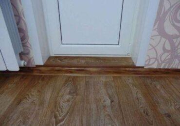 Что ставить первым – двери или ламинат
