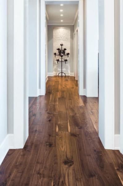 Подбор и способы укладки ламината в коридоре
