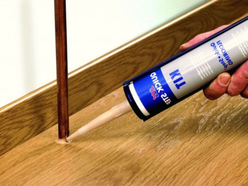 Пример использования герметика